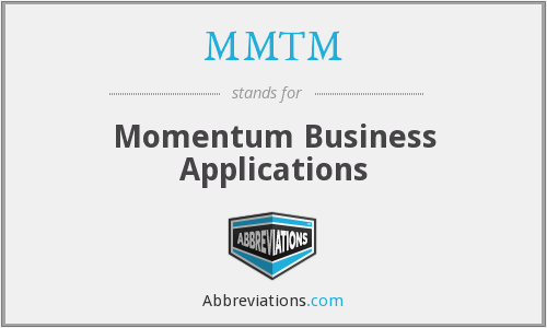 What does MMTM stand for?