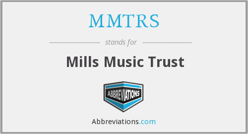 What does MMTRS stand for?