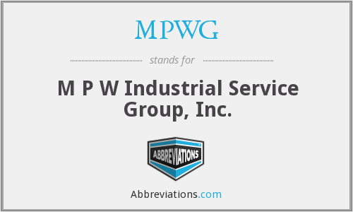 What does MPWG stand for?