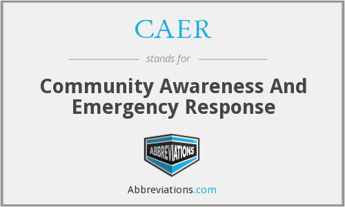 What does CAER stand for?