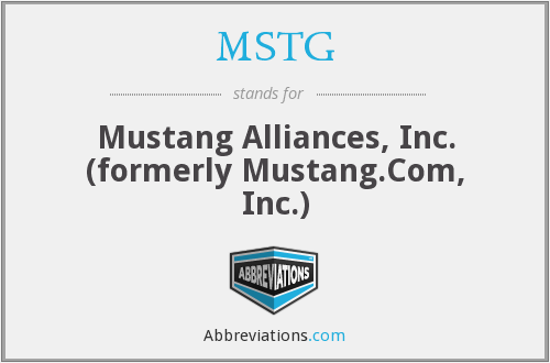 What does MSTG stand for?