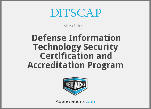 What does DITSCAP stand for?