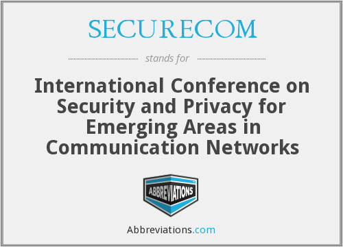 What does SECURECOM stand for?