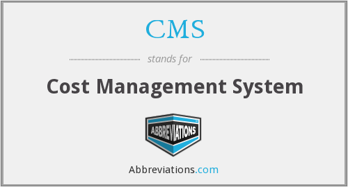 What does CMS stand for?