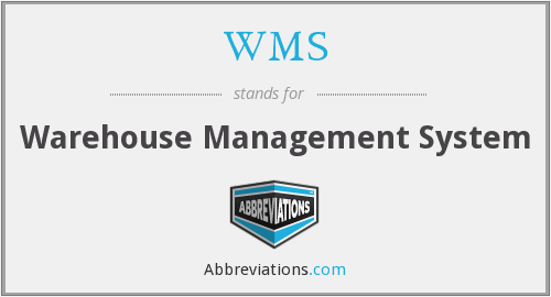 What does WMS stand for?