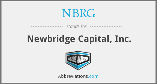What does NBRG stand for?