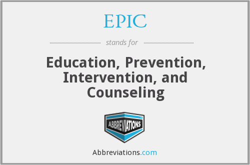 EPIC - Education, Prevention, Intervention, and Counseling