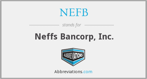 What does NEFB stand for?