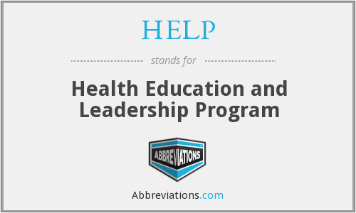 HELP - Health Education And Leadership Program