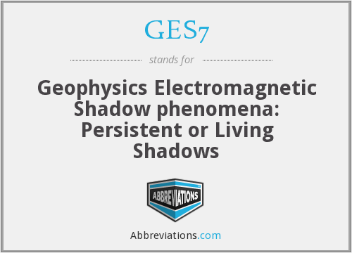 What does GES7 stand for?