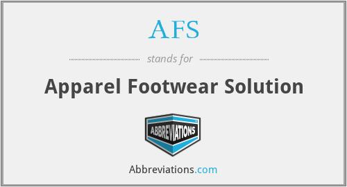AFS - Apparel Footwear Solution