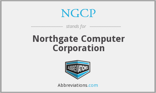 What does NGCP stand for?