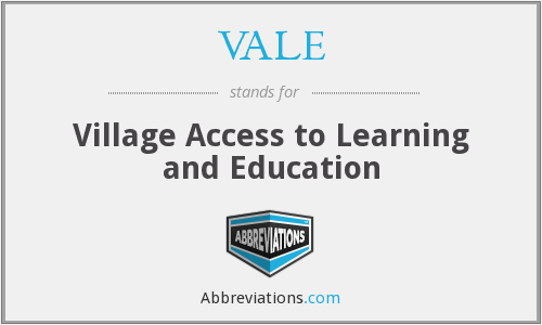 VALE - Village Access to Learning and Education