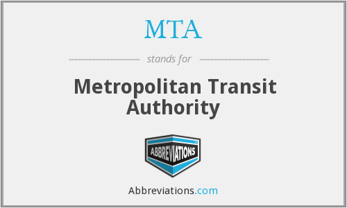 MTA - Metropolitan Transit Authority
