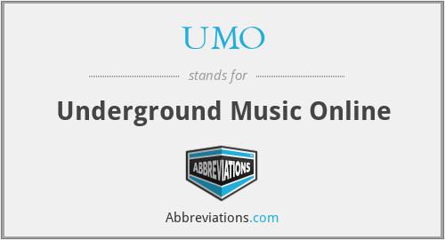 UMO - Underground Music Online