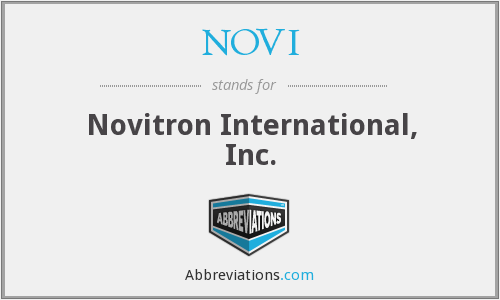 What does NOVI stand for?