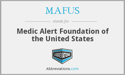 What does MAFUS stand for?