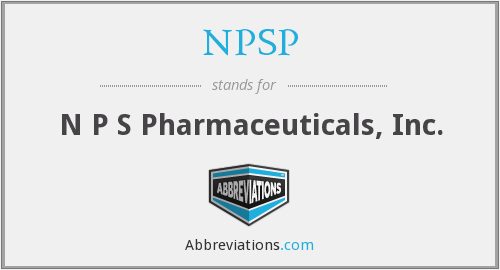 NPSP - N P S Pharmaceuticals, Inc.