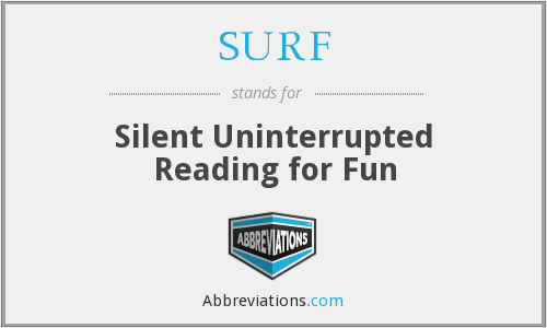 SURF - Silent Uninterrupted Reading for Fun