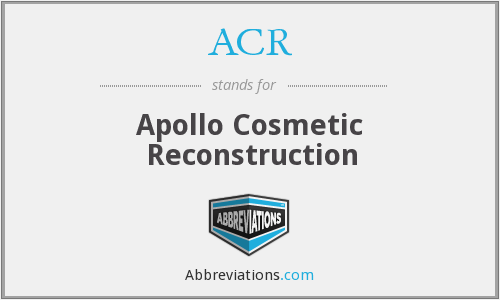 ACR - Apollo Cosmetic Reconstruction