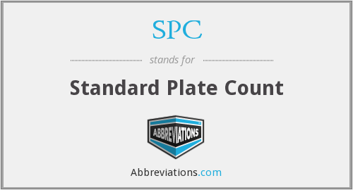 SPC - Standard Plate Count