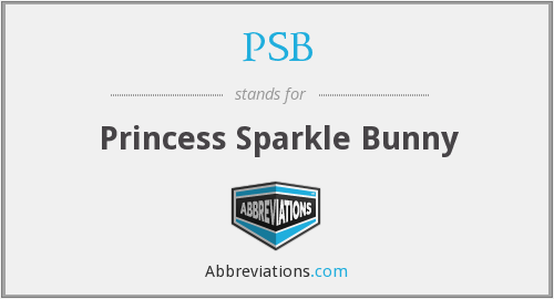 PSB - Princess Sparkle Bunny