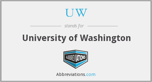 UW - University of Washington