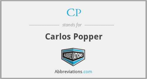 CP - Carlos Popper