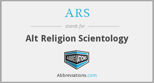 ARS - Alt Religion Scientology