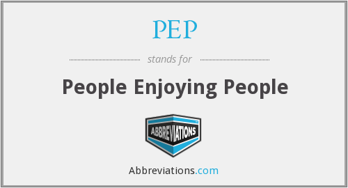 PEP - People Enjoying People