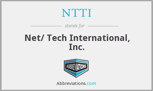 What does NTTI stand for?