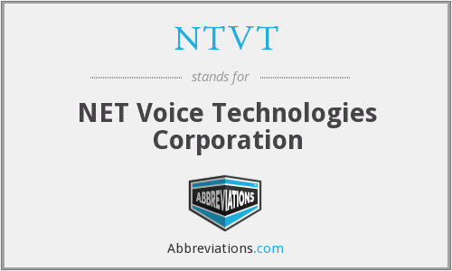 What does NTVT stand for?