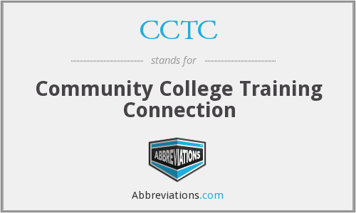 CCTC - Community College Training Connection