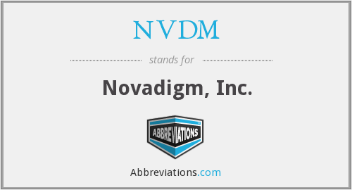 What does NVDM stand for?