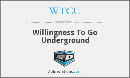 What does WTGU stand for?