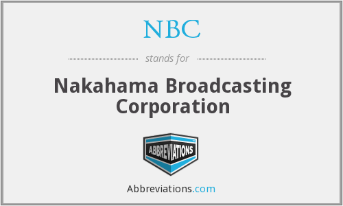 NBC - Nakahama Broadcasting Corporation