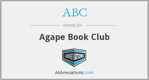 ABC - Agape Book Club
