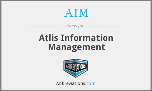 AIM - Atlis Information Management