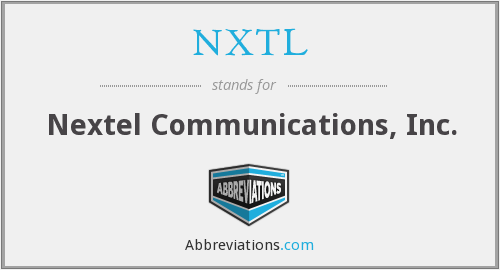What does NXTL stand for?