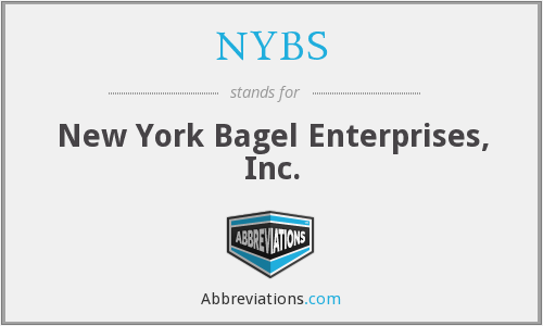 What does NYBS stand for?