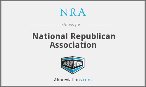 NRA - National Republican Association