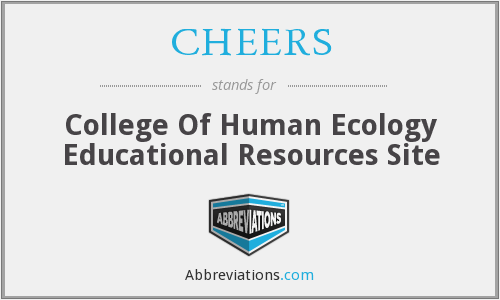 CHEERS - College Of Human Ecology Educational Resources Site