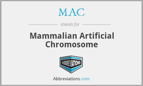MAC - Mammalian Artificial Chromosome