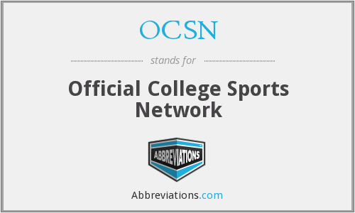 OCSN - Official College Sports Network