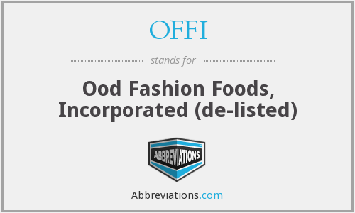 What does OFFI stand for?