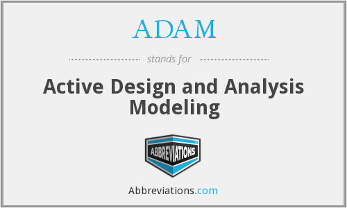 ADAM - Active Design and Analysis Modeling