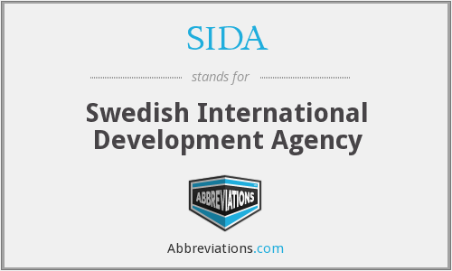 What does SIDA stand for?