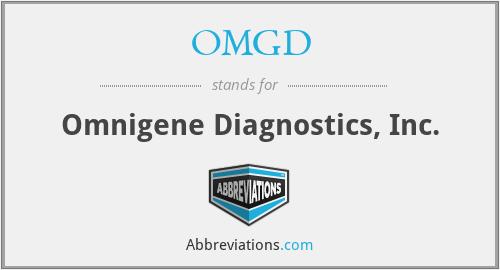 OMGD - Omnigene Diagnostics, Inc.