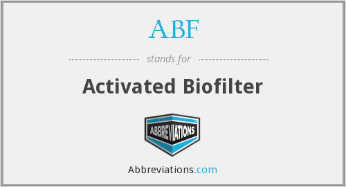 ABF - Activated Biofilter