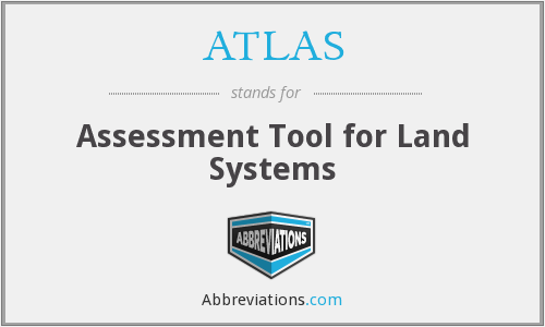 ATLAS - Assessment Tool for Land Systems